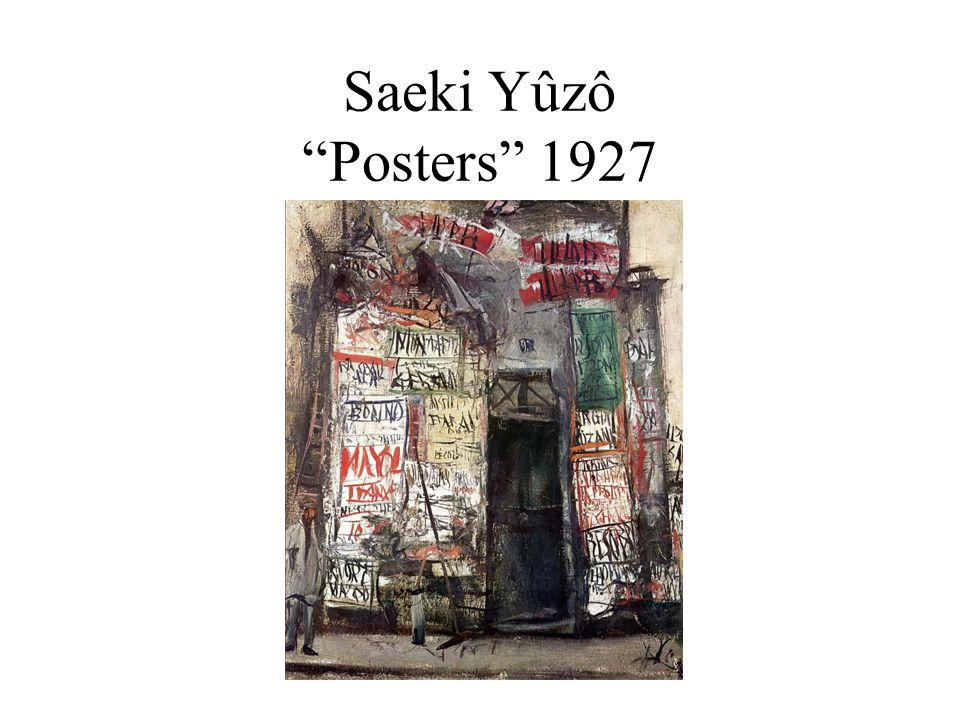 Saeki Yûzô Posters 1927