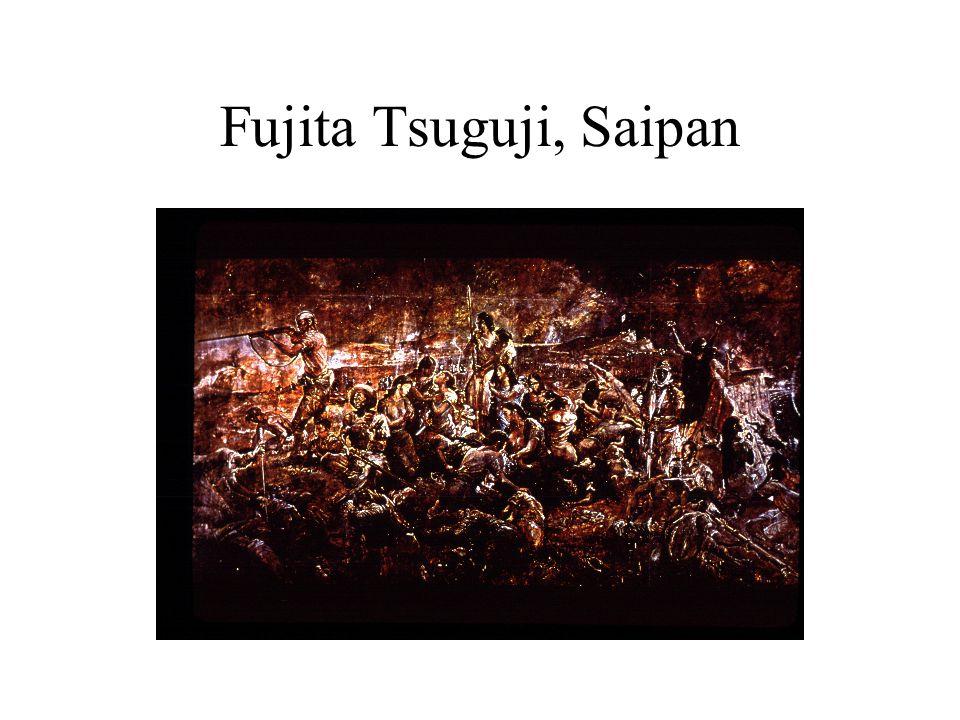 Fujita Tsuguji, Saipan