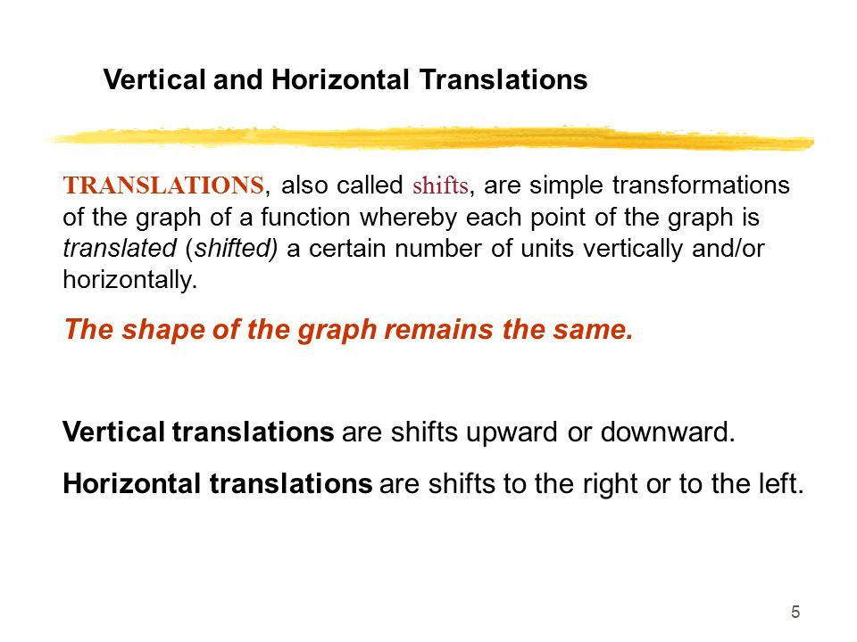 16 Describe the transformations of each of the following graphs as compared to the graph of its parent function.