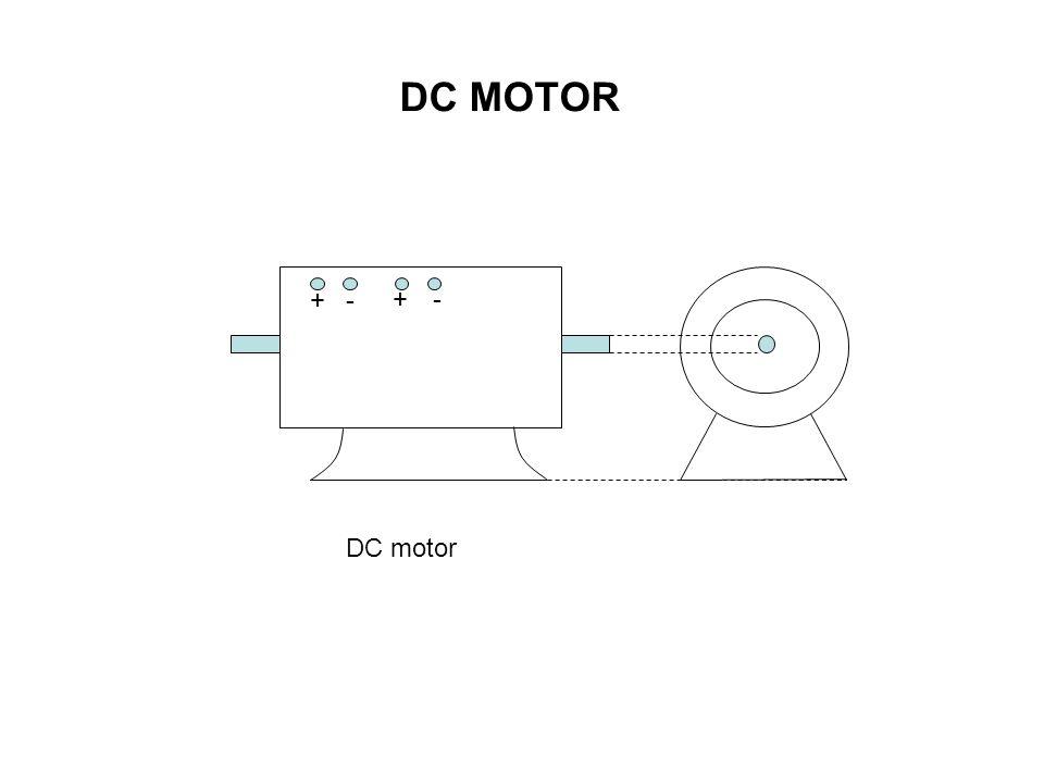 + +- - DC motor DC MOTOR