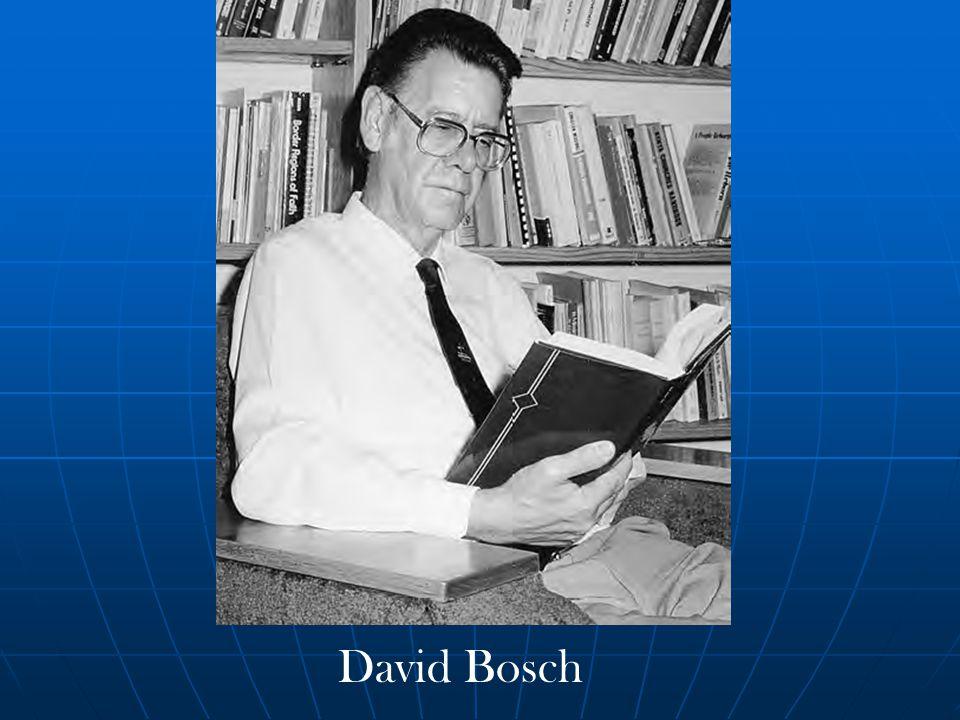 David Bosch