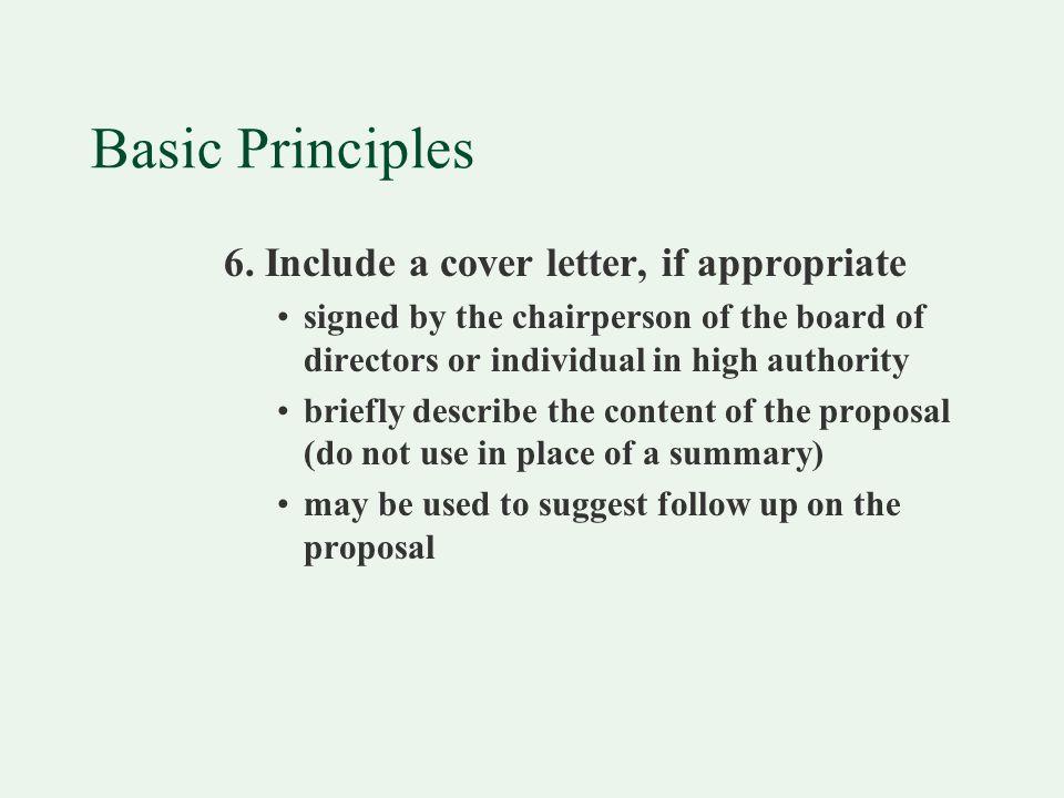 Basic Principles 6.