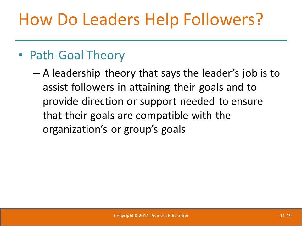 11-19 How Do Leaders Help Followers.
