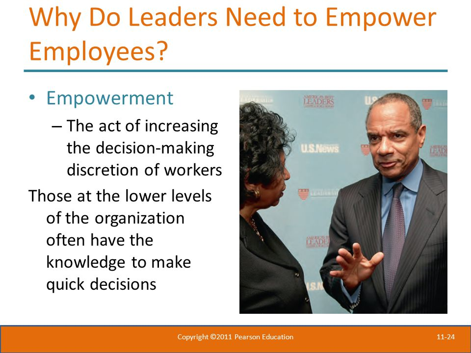 11-24 Why Do Leaders Need to Empower Employees.