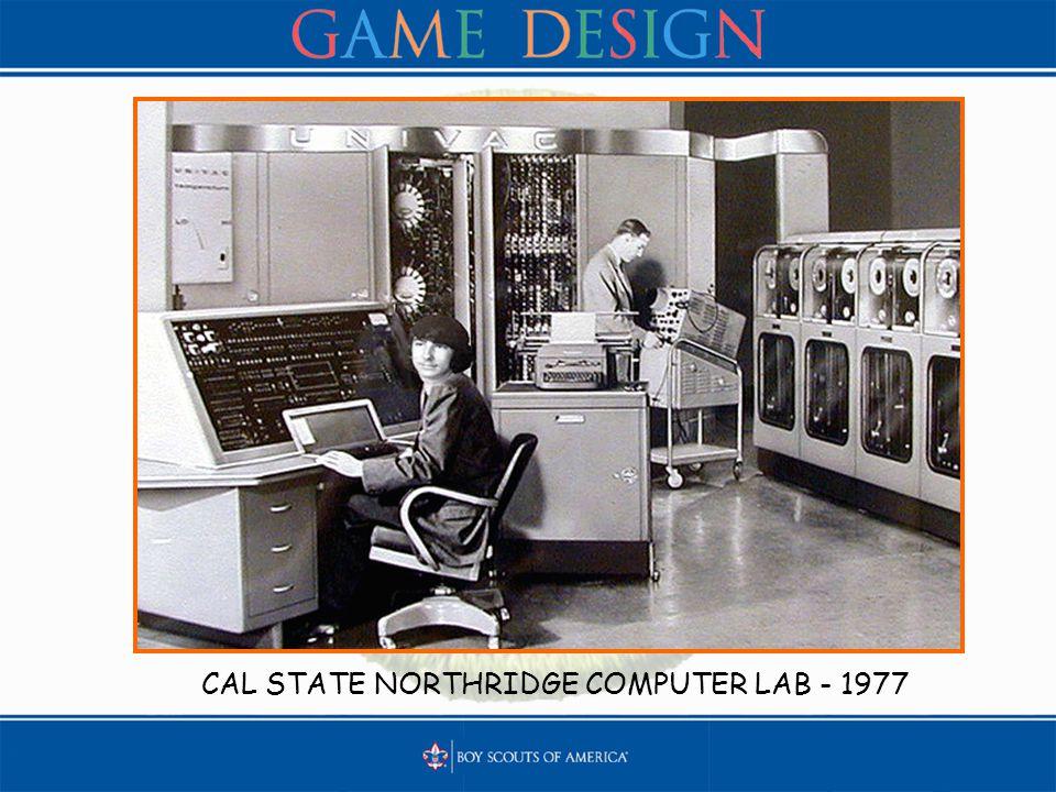 CAL STATE NORTHRIDGE COMPUTER LAB - 1977