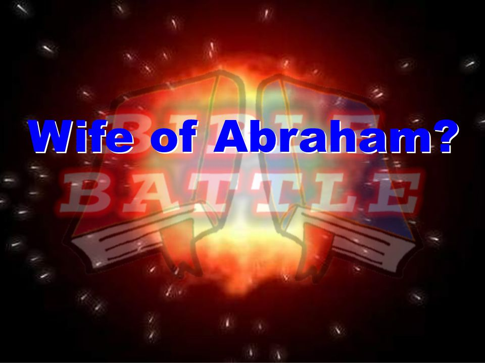 Wife of Abraham