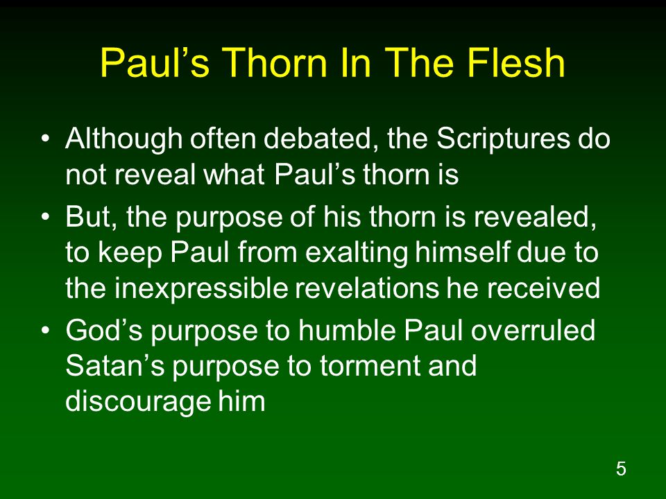 6 Paul Had Received Inexpressible Revelations From The Lord 2Co 12:1 Boasting is necessary, though it is not profitable; but I will go on to visions and revelations of the Lord.