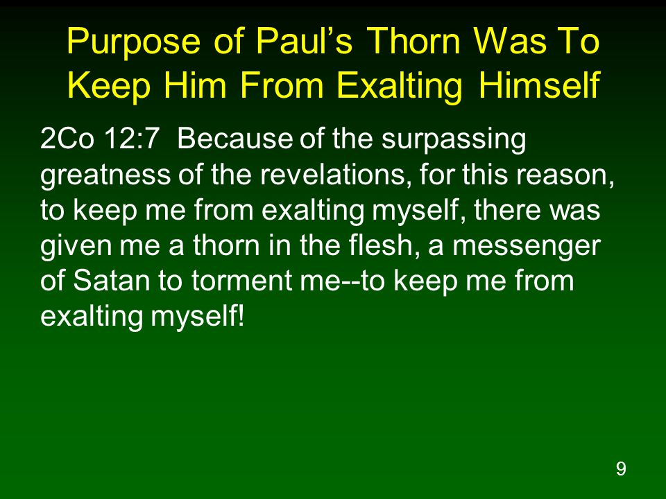 20 Paul's Response To God's Answer Php 4:11 Not that I speak from want, for I have learned to be content in whatever circumstances I am.