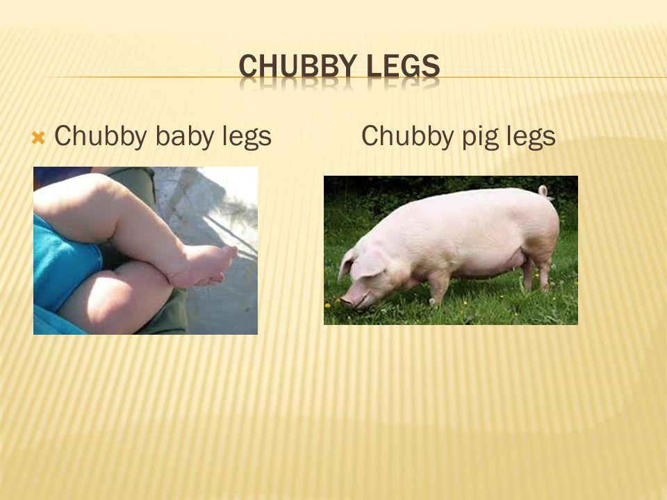  Chubby baby legs Chubby pig legs