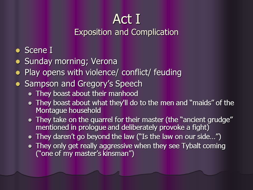 Act II continued Scene III: Early Monday morning Fr.