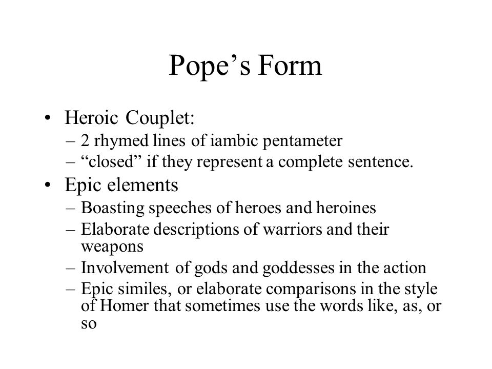 pope essay on man epistle 2 analysis The story begins in westphalia at the castle of the high and mighty baron of thunder-ten-tronckh, his three-hundred-fifty-pound wife, their beautiful young daug.
