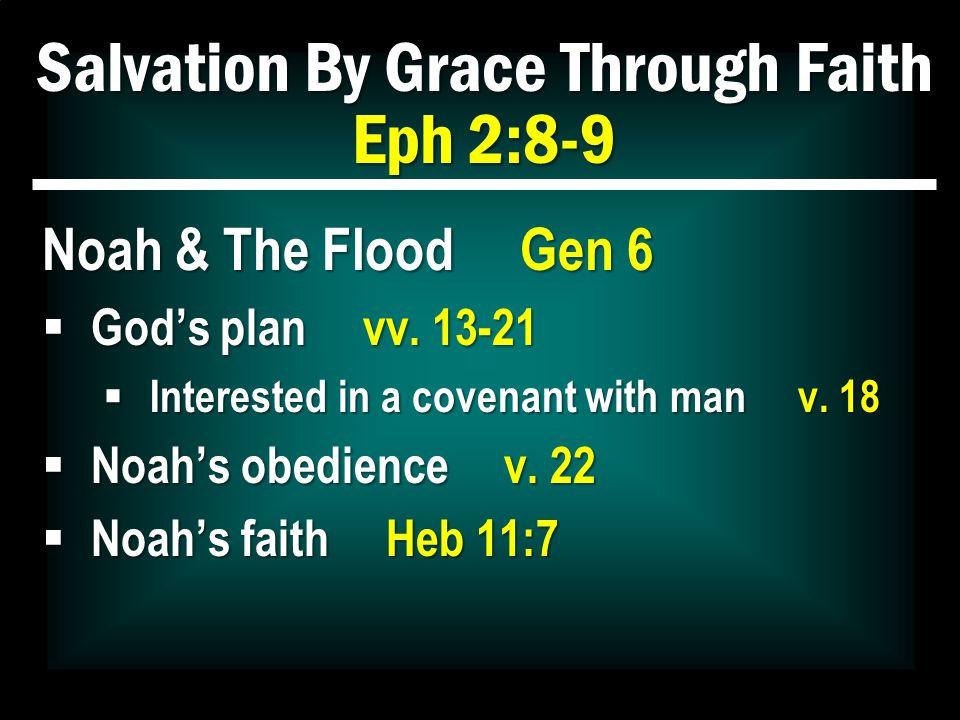 Salvation By Grace Through Faith Eph 2:8-9 …