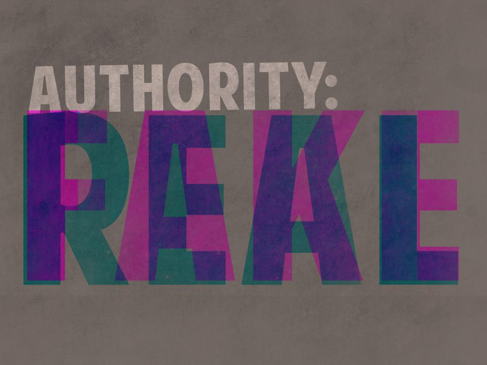Big Question: What is spiritual authority?