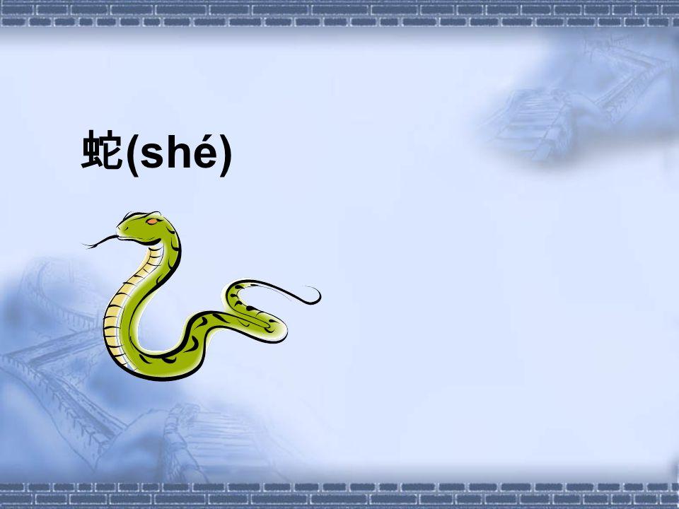 蛇 (shé)
