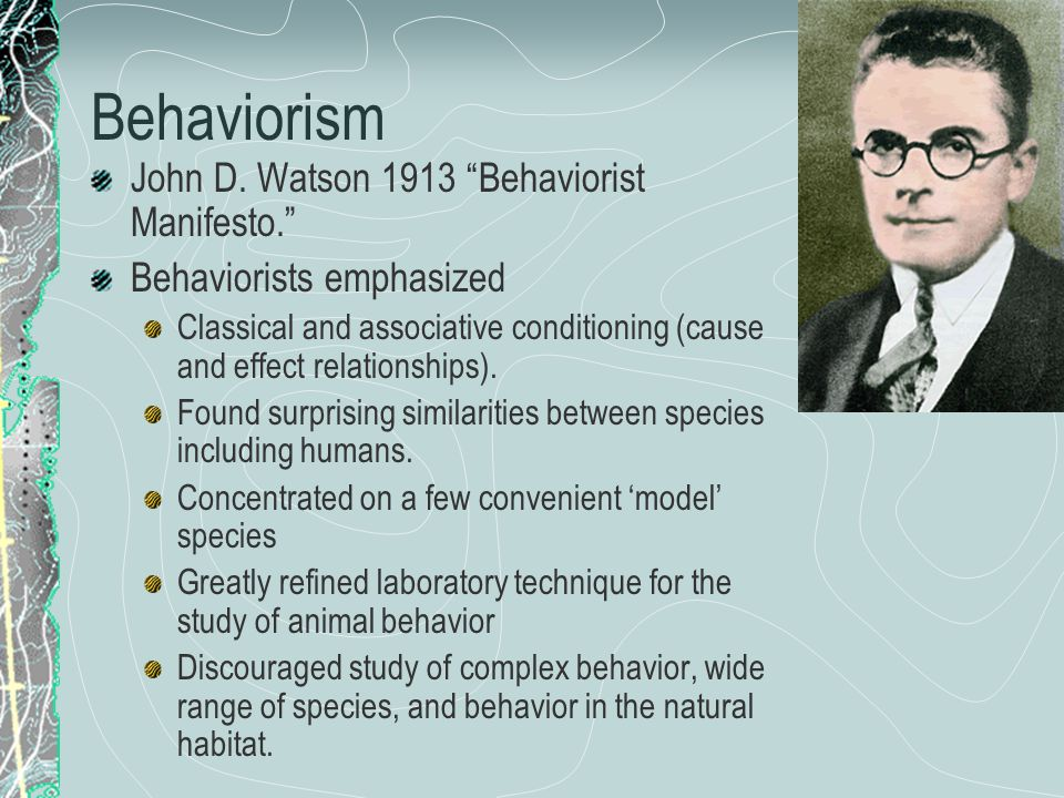 Ethology Zoological tradition of studying animals in their natural habitats.
