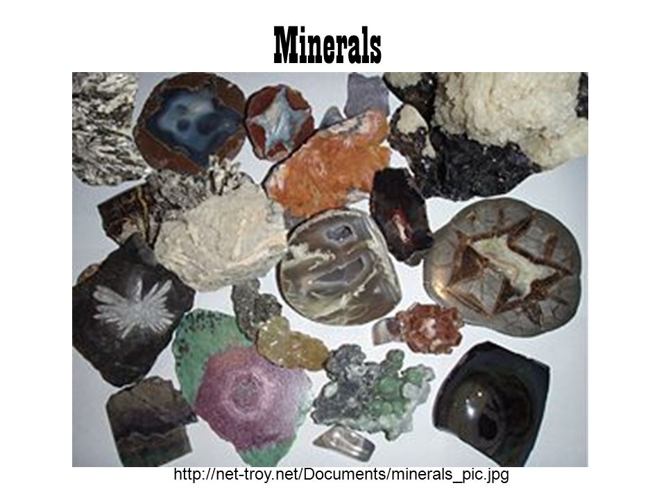 Minerals http://net-troy.net/Documents/minerals_pic.jpg
