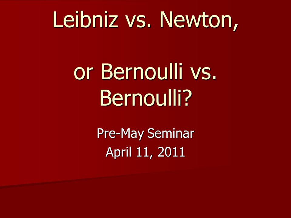 Calculus of Variations Bernoulli & Bernoulli Bernoulli & Bernoulli Euler Euler Lagrange Lagrange Gauss Gauss Poisson Poisson