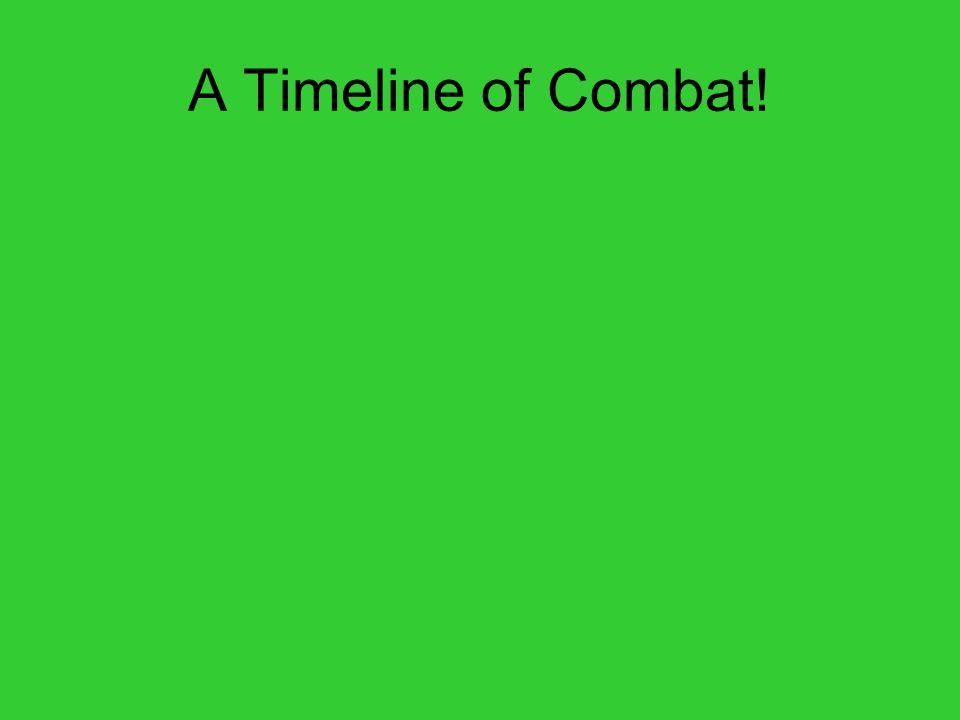 A Timeline of Combat!
