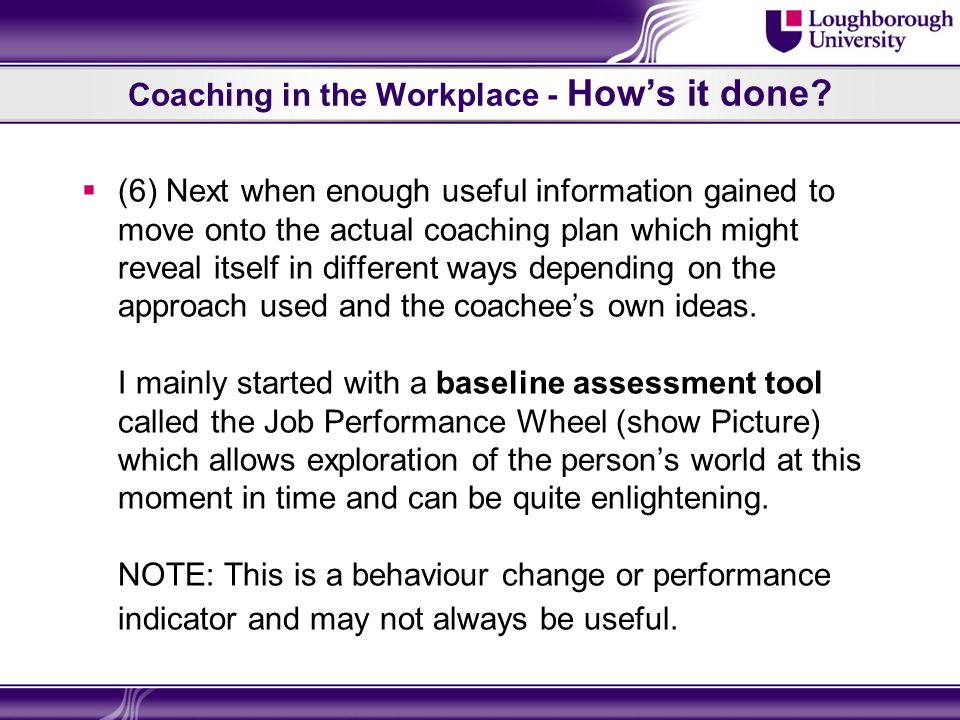 Coaching in the Workplace – Books Qus Books  Starr, J (2008) The Coaching Manual.