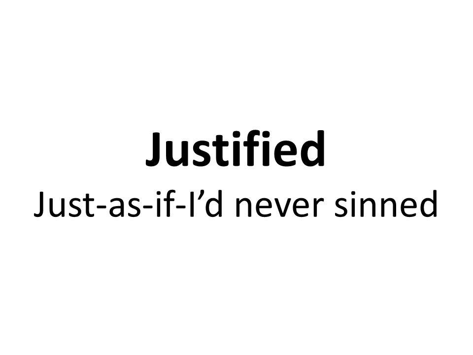 Stop Justifying Yourself