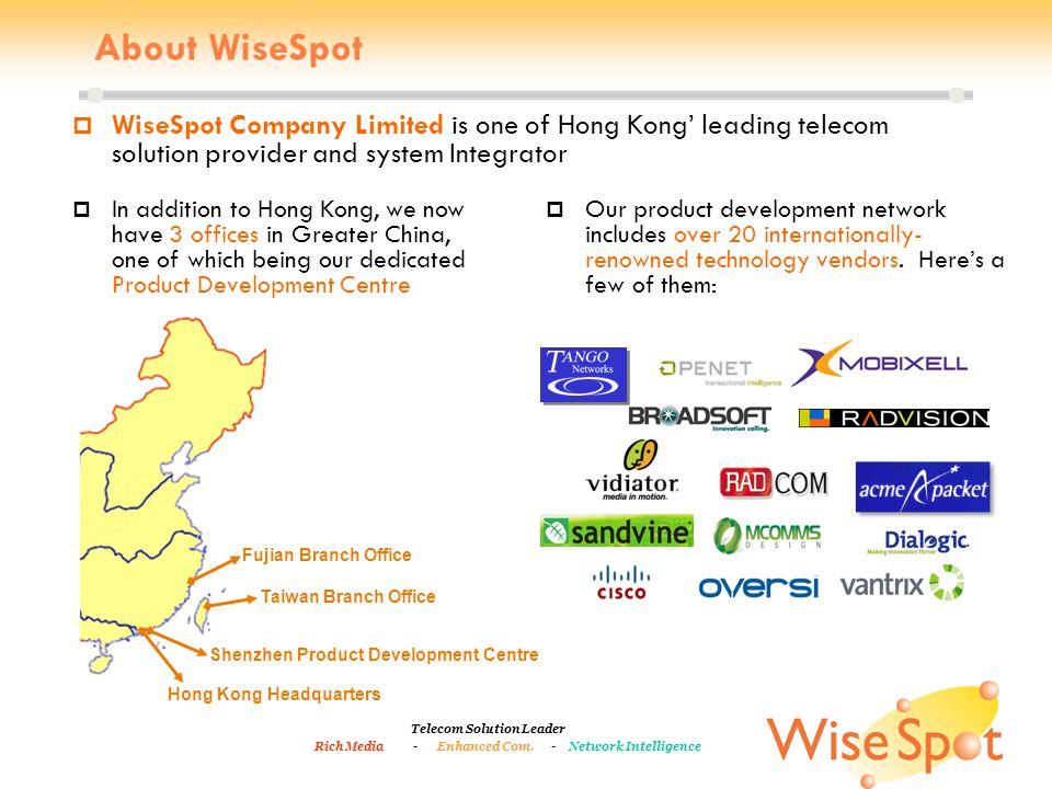 Telecom Solution Leader Rich Media - Enhanced Com.