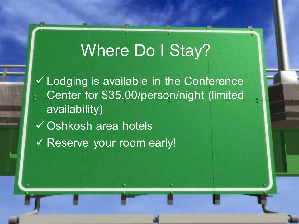 Where Do I Stay.