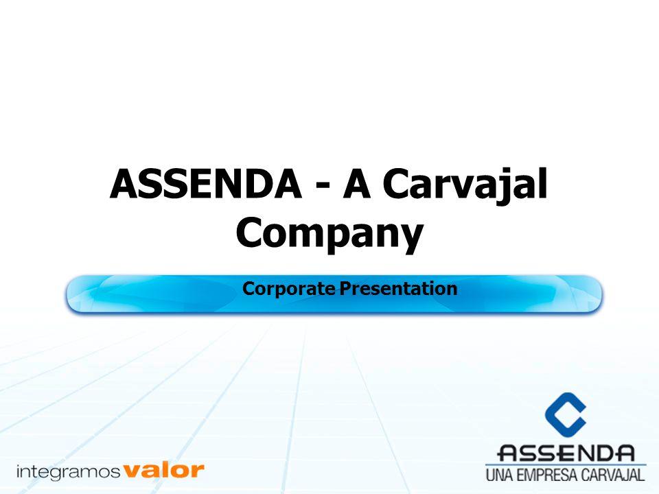 ASSENDA - A Carvajal Company Corporate Presentation