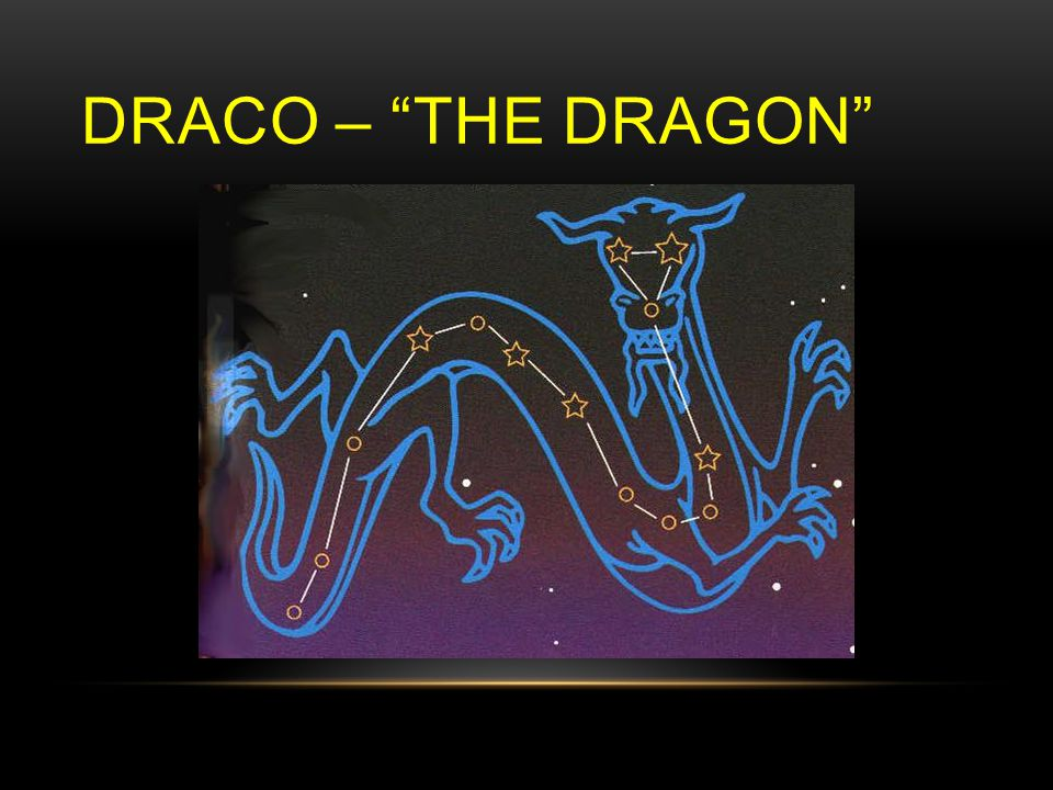 DRACO – THE DRAGON