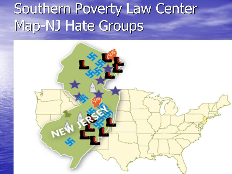 Southern Poverty Law Center Map-NJ Hate Groups Hate groups in New Jersey