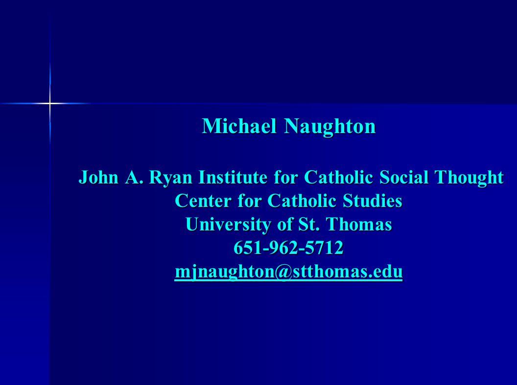 Michael Naughton John A.