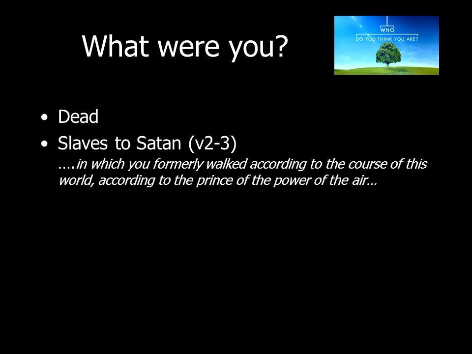 Dead Slaves to Satan (v2-3) ….