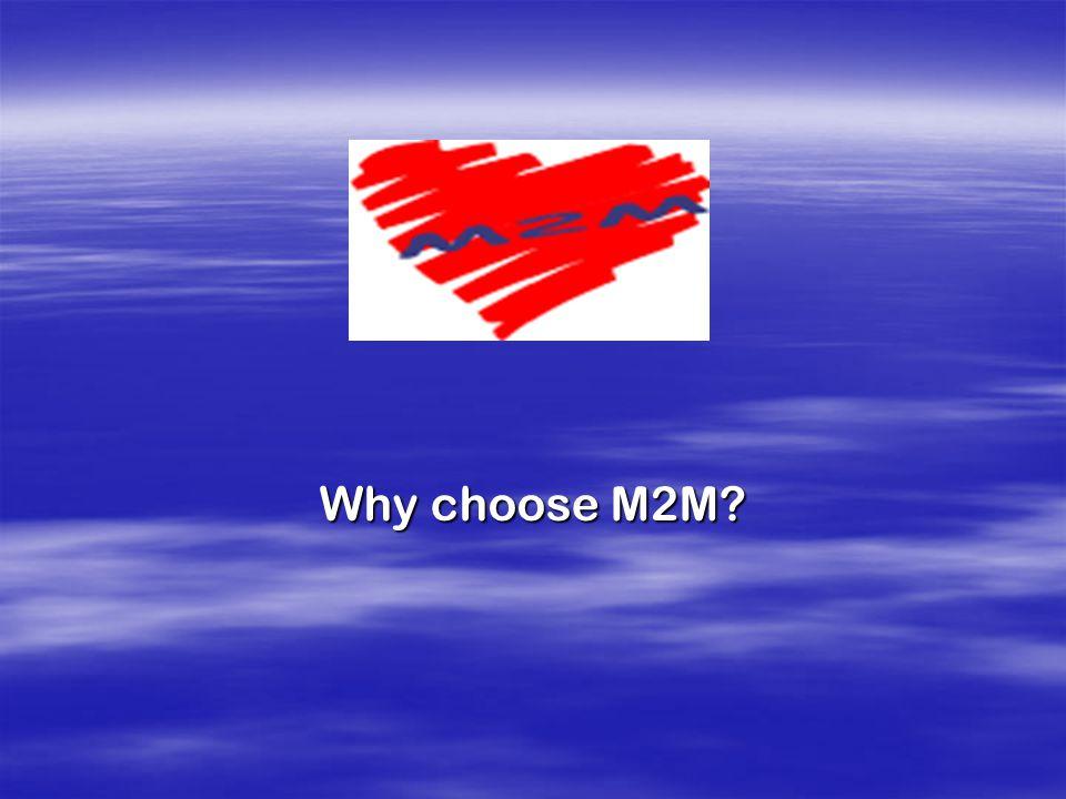 Why choose M2M