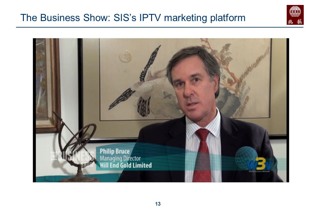 13 The Business Show: SIS's IPTV marketing platform