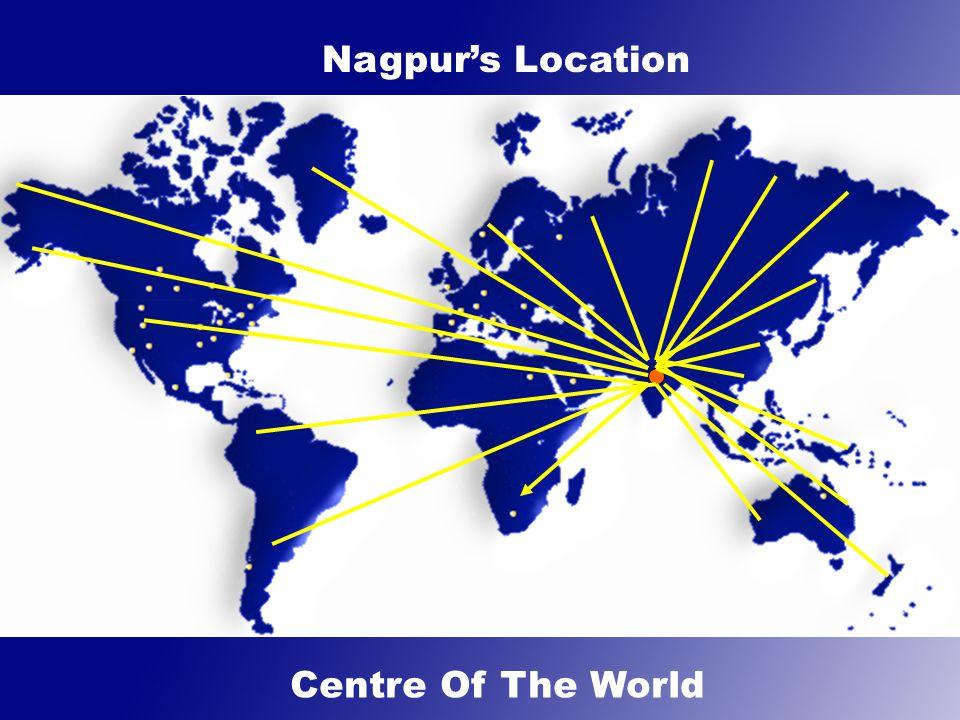 Excellent road connectivity, National Highways 6 & 7 pass through Nagpur connecting Kolkata to Surat & Mumbai.