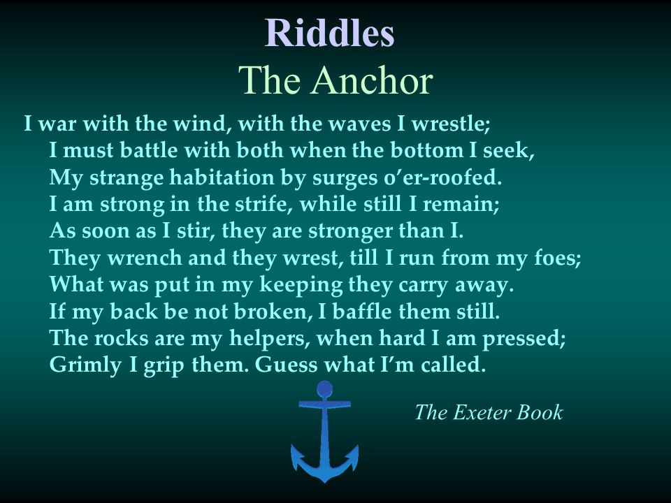 Riddles I war with the wind, with the waves I wrestle; I must battle with both when the bottom I seek, My strange habitation by surges o'er-roofed. I