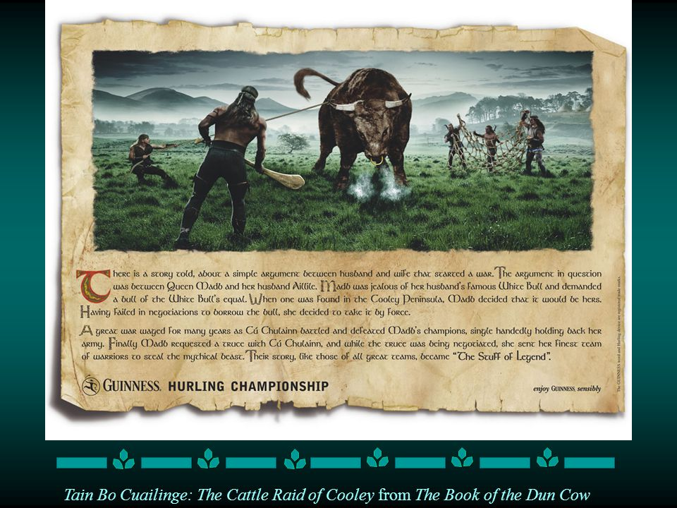 Tain Bo Cuailinge: The Cattle Raid of Cooley from The Book of the Dun Cow