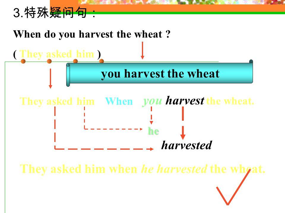 2. 一般疑问句 : Is it easy to improve the condition of the soil.