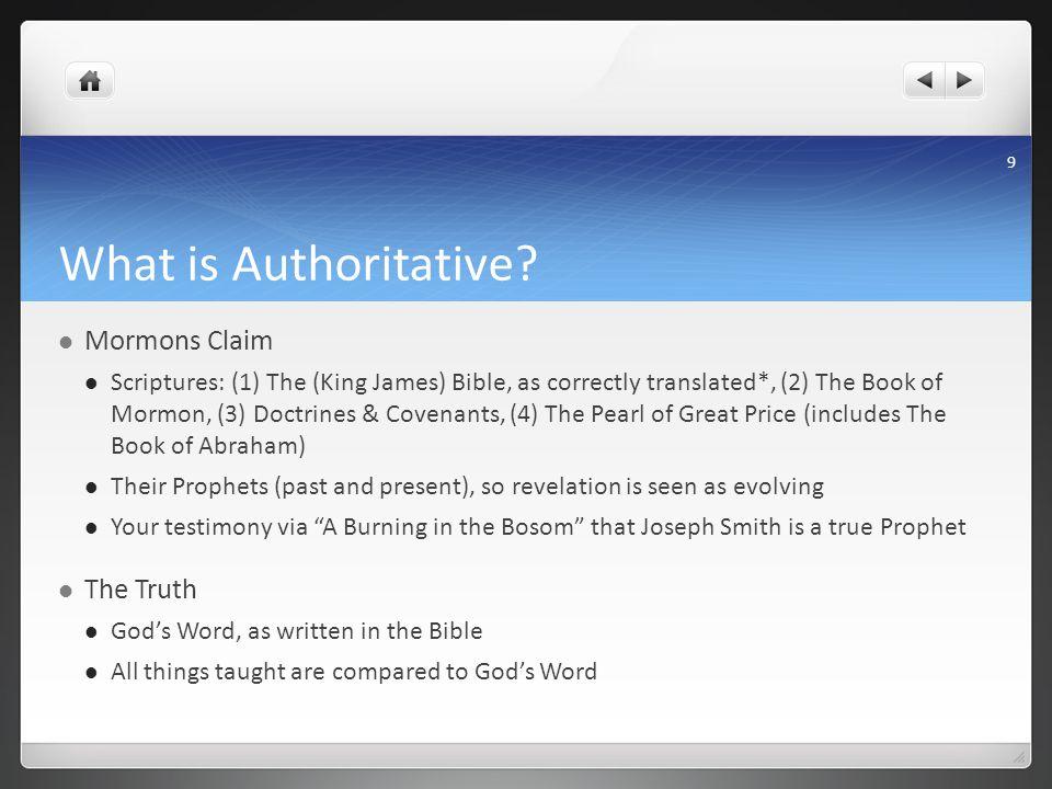 What is Authoritative.