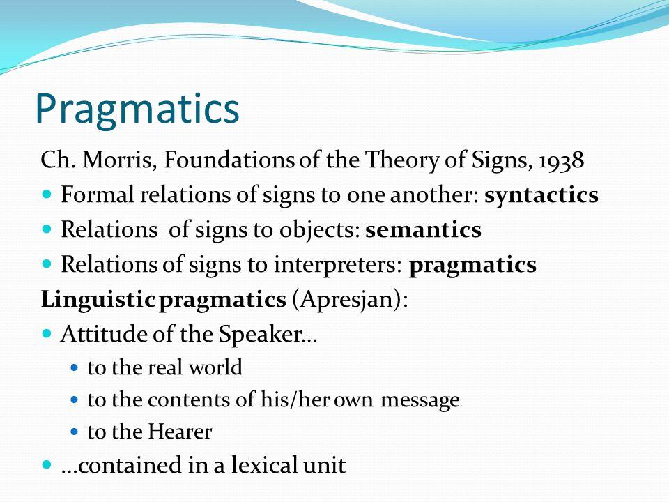 Pragmatics Ch.