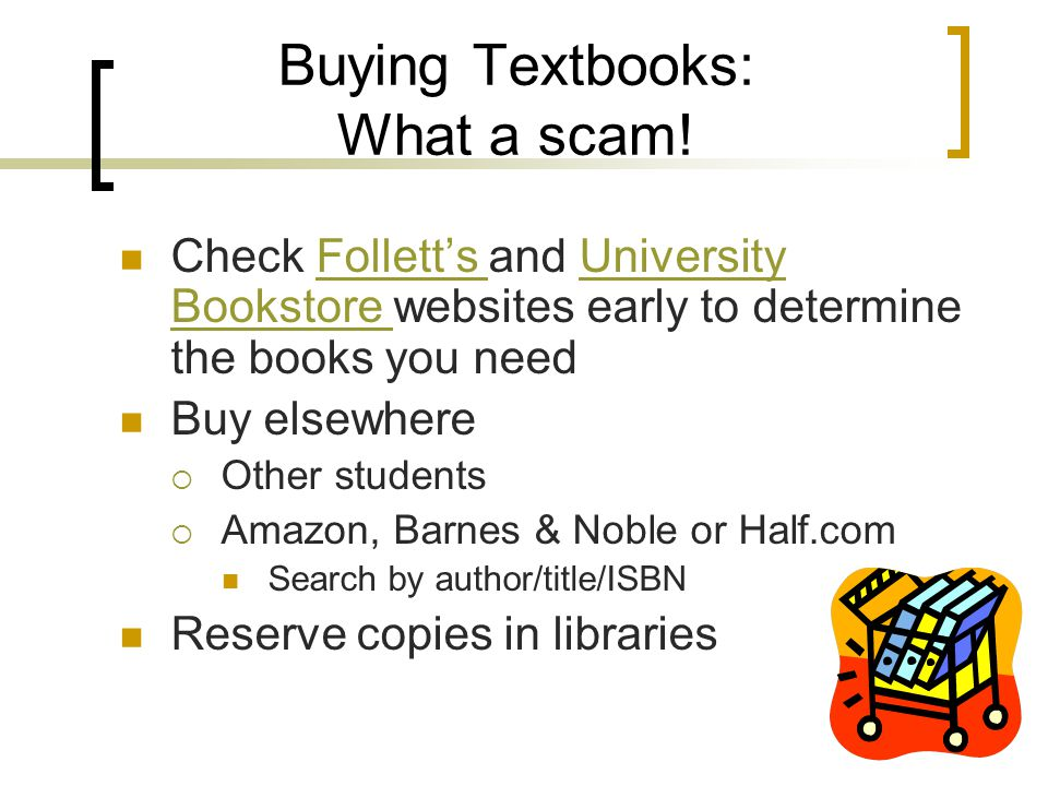 Buying Textbooks: What a scam.