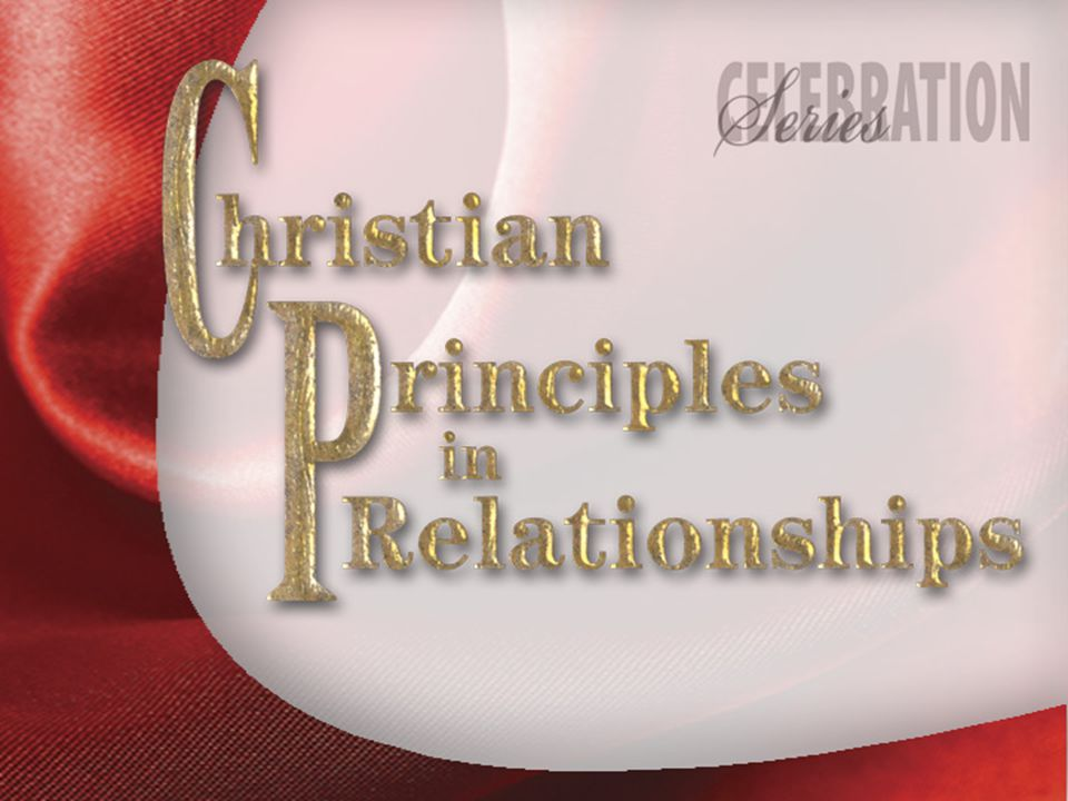 Principles of Christian Living