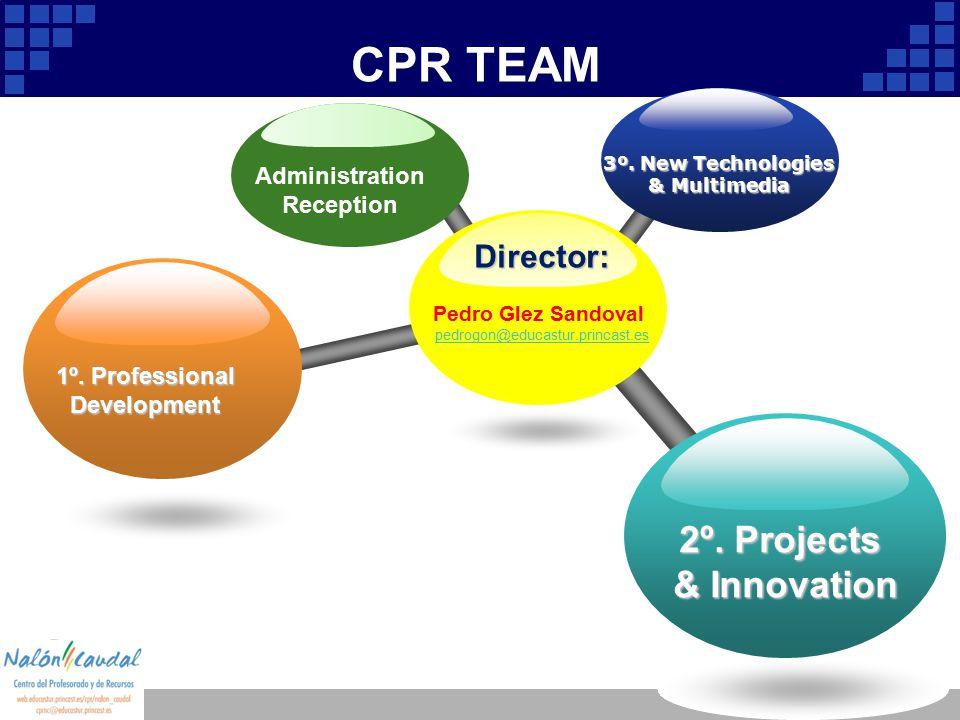 Company Logo CPR TEAM Director: Pedro Glez Sandoval pedrogon@educastur.princast.es 3º.