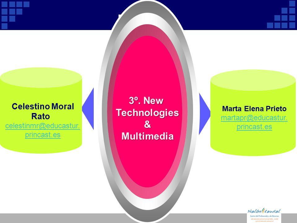 Company Logo Diagram 3º. New Technologies &Multimedia Celestino Moral Rato celestinmr@educastur.