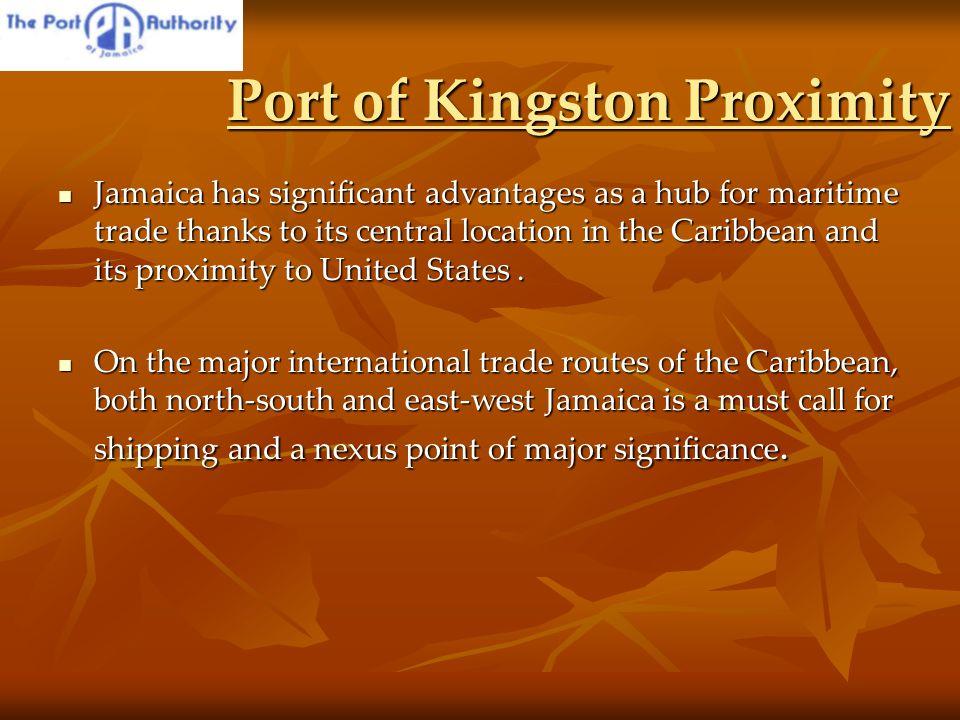 Shipping Routes Through Jamaica Shipping Routes Through Jamaica