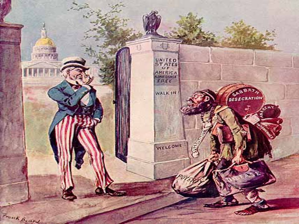 American Protective Association Americans formed groups to opposed the immigrant threat Supported laws to restrict certain groups of immigrants.