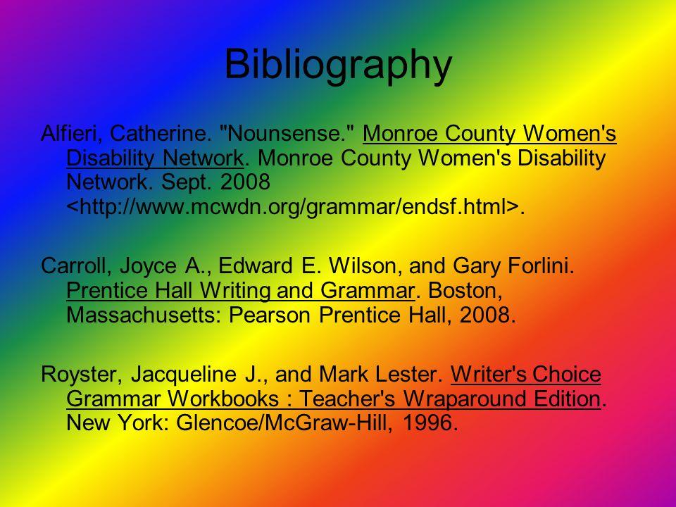 Bibliography Alfieri, Catherine.