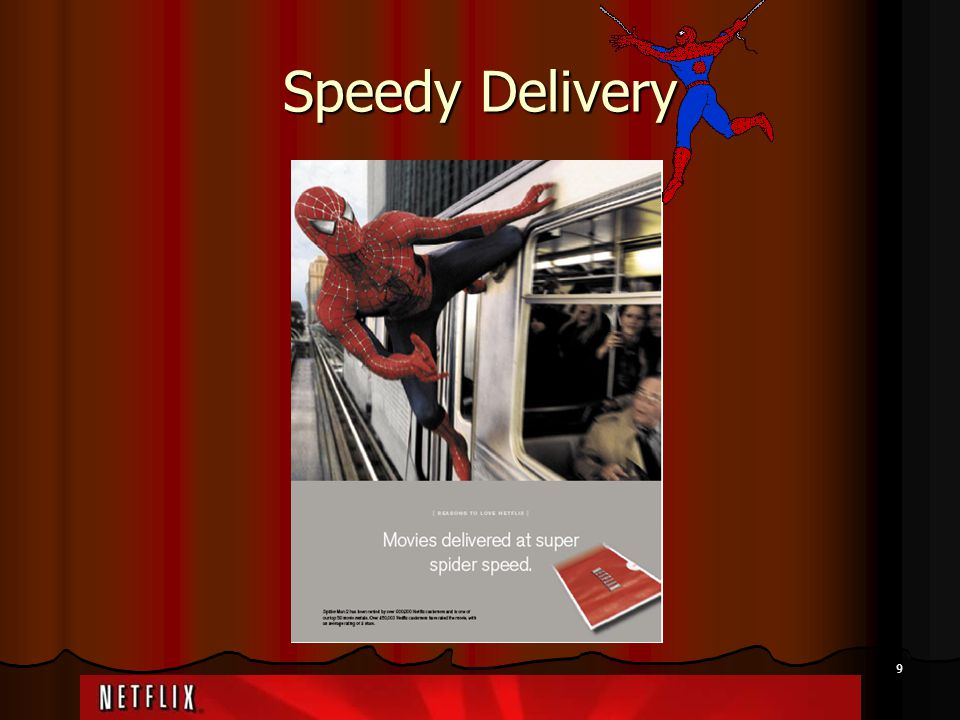 9 Speedy Delivery