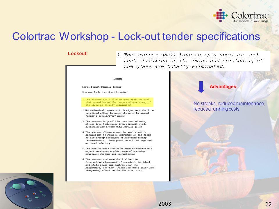2003 21 Open Aperture - 'An experiment' STEP 3.