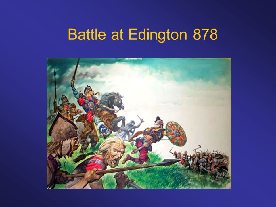 Battle at Edington 878