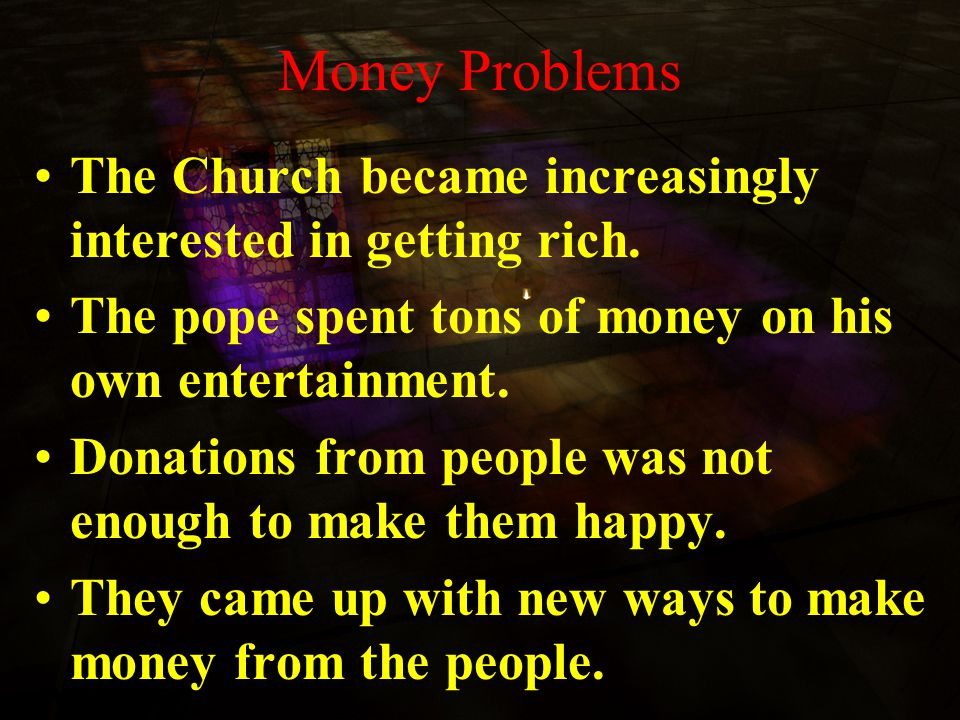 Problems in the Church